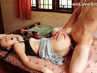 Spiare il vicino di casa fino a film erotici porno quando lei finisce cazzo